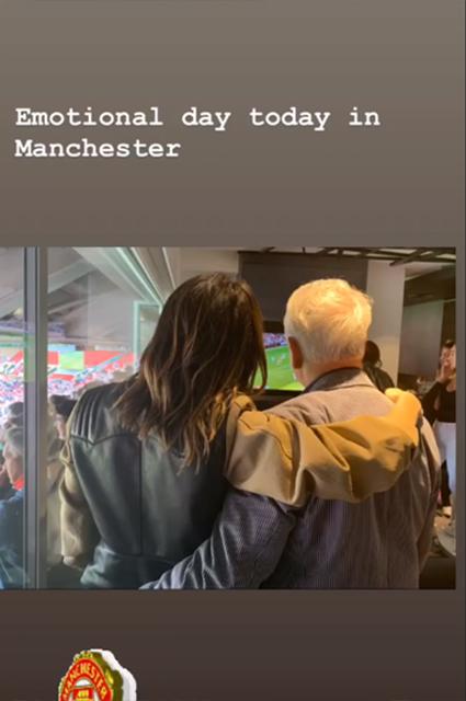 Дэвид Бекхэм с женой Викторией и детьми на благотворительном футбольном матче