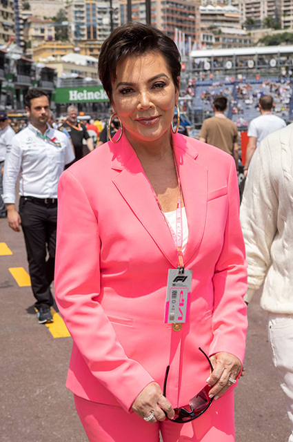 Белла Хадид, княгиня Шарлен, Крис Дженнер и другие на Гран-при
