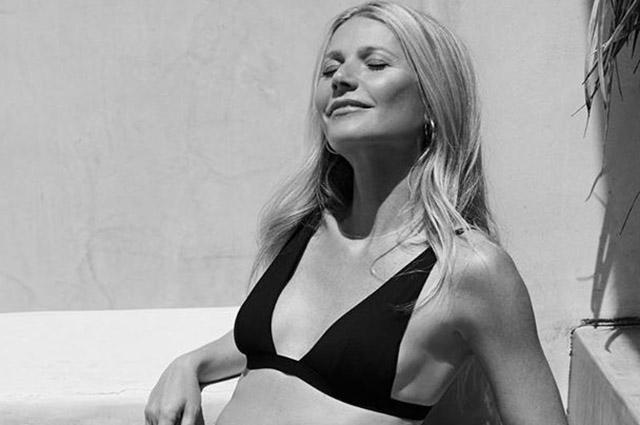 Гвинет Пэлтроу снялась в рекламе новой коллекции купальников своей ЗОЖ-компании