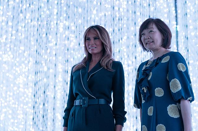 Мелания Трамп и Акиэ Абэ