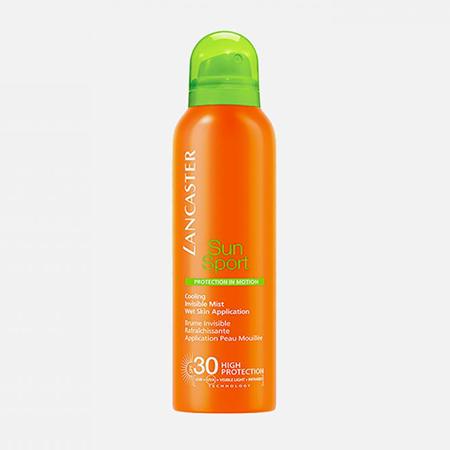 Солнцезащитный спрей Sun Sport Cooling Invisible Mist Wet Skin Application SPF 30, Lancaster