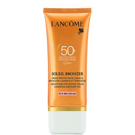 Увлажняющий солнцезащитный BB крем для лица Smoothing Protective Cream SPF 50 Sun BB Cream, Lancome