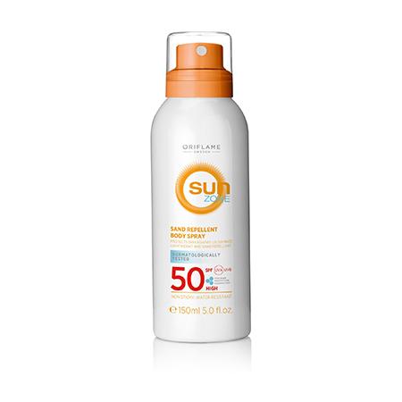 Солнцезащитный спрей для тела Sun Zone с высокой степенью защиты, Oriflame