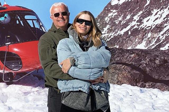 Белые медведи, рыбалка и глобальное потепление: Елена Перминова и Александр Лебедев путешествуют по Гренландии