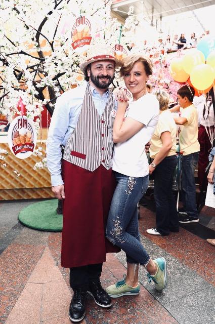 Илья Авербух и Ксения Алферова