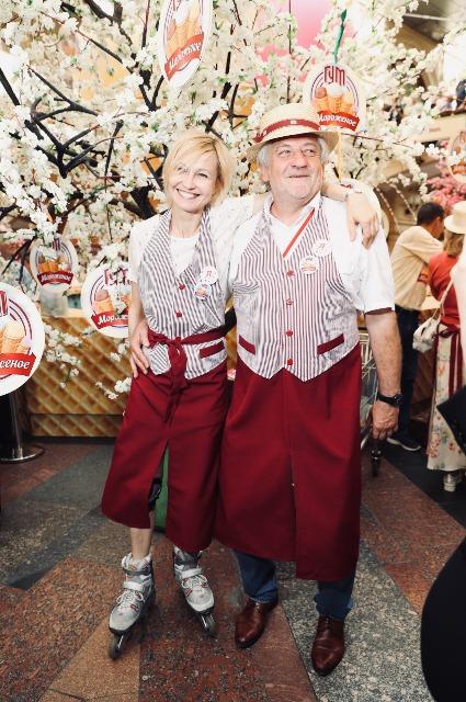 Ингеборга Дапкунайте и Михаил Куснирович