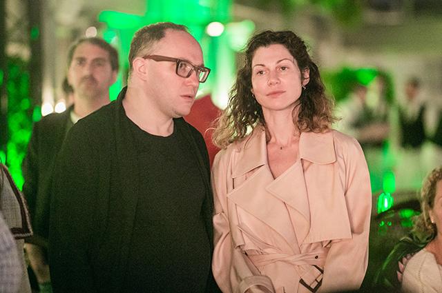 Алексей Трифонов и Евгения Линович