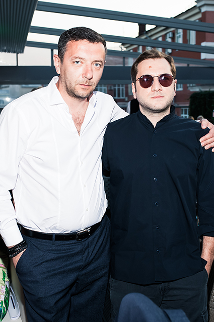 Алексей Агранович и Резо Гигинеишвили