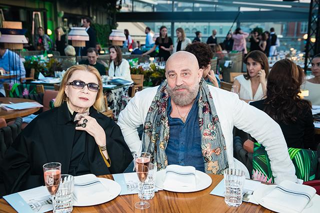 Алла Демидова и Павел Каплевич