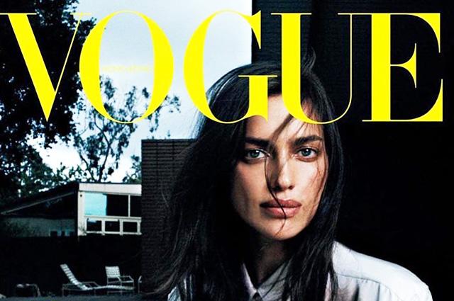 Ирина Шейк снялась для гонконгского Vogue