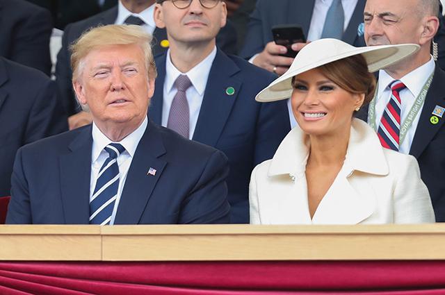 Дональд и Мелания Трамп снова встретились с британской королевской семьей