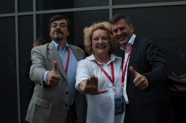 Регина фон Флемминг с гостями мероприятия