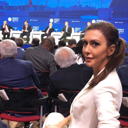 Наиля Аскер-Заде, Тина Канделаки, Виктория Шелягова и другие на ПМЭФ-2019