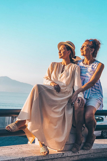 Регина Тодоренко с мамой