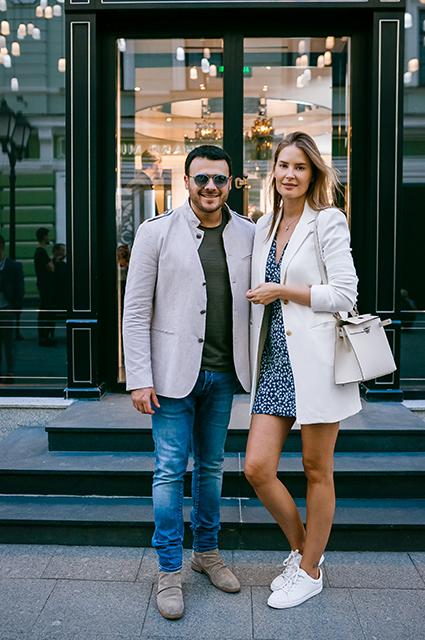 Эмин Агаларов с женой Аленой Гавриловой