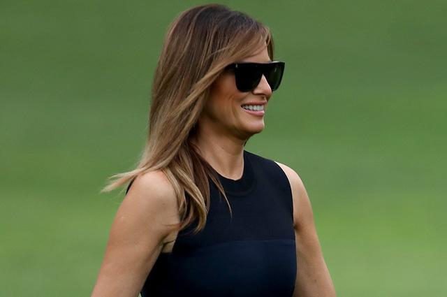 Сдержанность, элегантность и немного Джеки Кеннеди: Мелания Трамп вернулась в США из Европы
