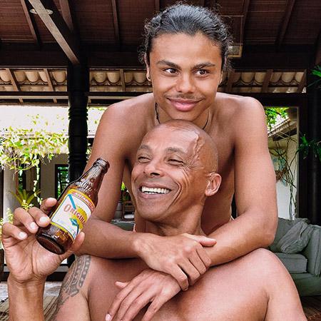 Закари Кунаки с отцом Робином