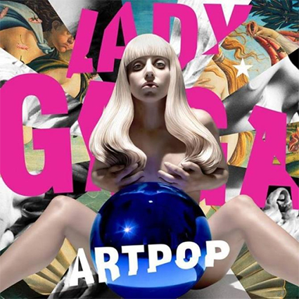 Обложка альбома Леди Гаги Artpop