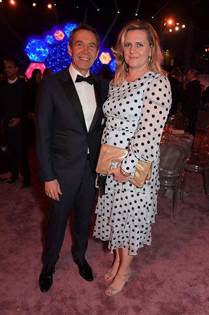 Джефф Кунс с женой
