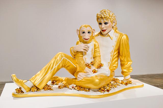 Скульптура Майкла Джексона