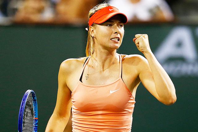 Мария Шарапова возвращается на корт после длительного перерыва