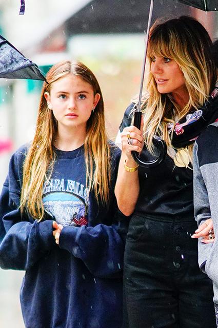 Хайди Клум с дочерью Хелен