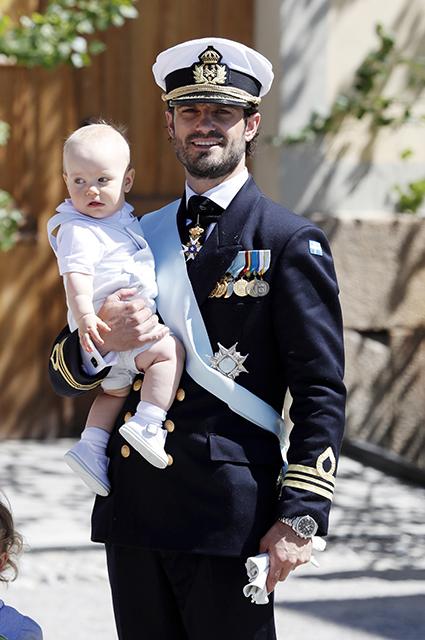 Принц Габриэль и принц Карл Филипп