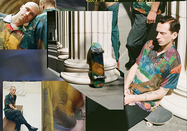 Модный дайджест: мерч Рубчинского и Пушкинского музея, российский манекенщик на шоу Raf Simons и не только