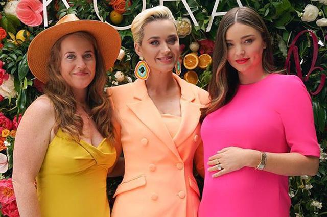 Миранда Керр отпраздновала запуск своей новой бьюти-линии с невестой экс-супруга Орландо Блума Кэти Перри
