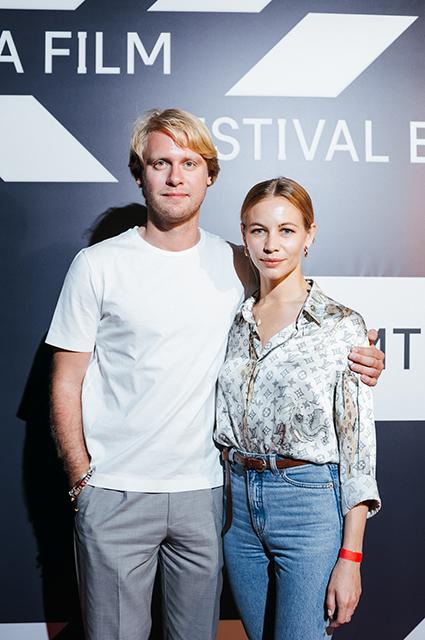 Илья Стюарт и Светлана Устинова