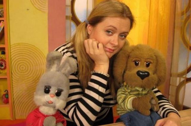 """Анна Михалкова в программе """"Спокойной ночи, малыши!"""""""