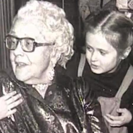 Анна Михалкова с бабушкой Натальей Кончаловской
