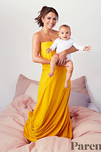Ева Лонгория с сыном Сантьяго