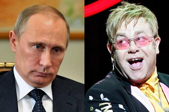 Владимир Путин ответил на обвинения Элтона Джона в лицемерии из-за слов об ЛГБТ-сообществе