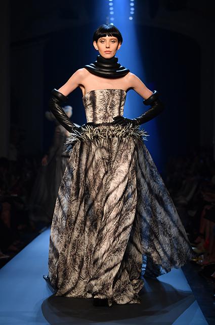 Неделя высокой моды в Париже: Кристина Агилера, Сара Сампайо, Катрин Денев на показе Jean Paul Gaultier