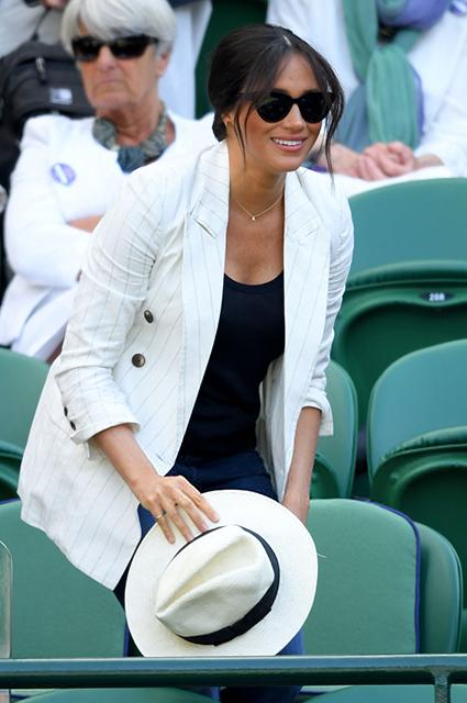 Меган Маркл поддержала Серену Уильямс на Уимблдонском турнире