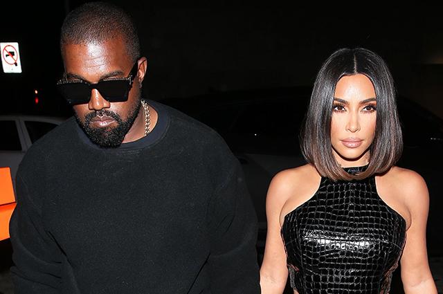 Ким Кардашьян и Канье Уэст сходили на свидание в Западном Голливуде