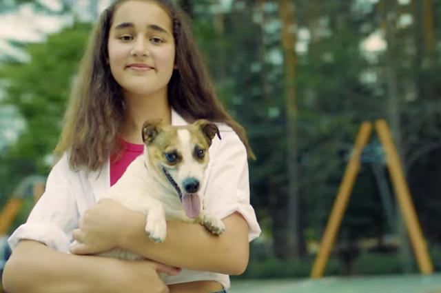 "Сафина Абрамова в клипе на песню ""Эта любовь"""