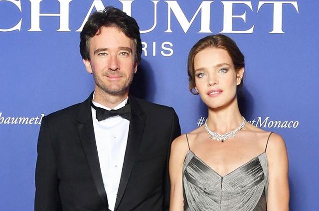 Наталья Водянова и Антуан Арно посетили ювелирную выставку в Монако