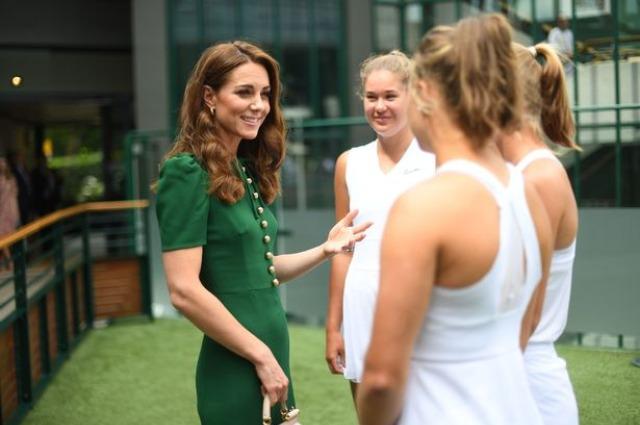 Кейт Миддлтон посетила финал Уимблдонского турнира