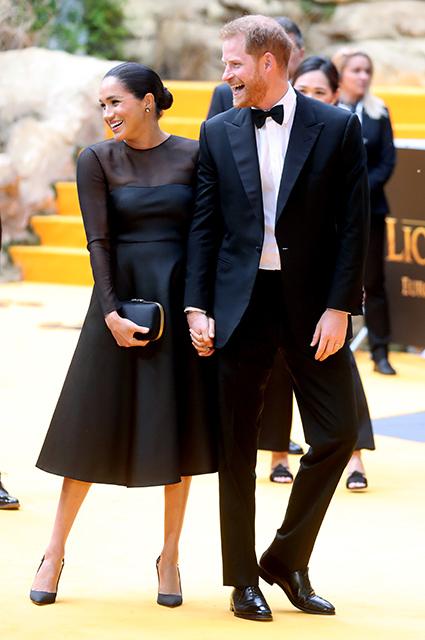 Меган Маркл и принц Гарри на премьере фильма