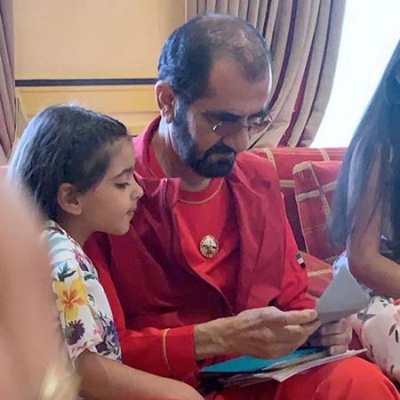 Мохаммед Аль Мактум с детьми