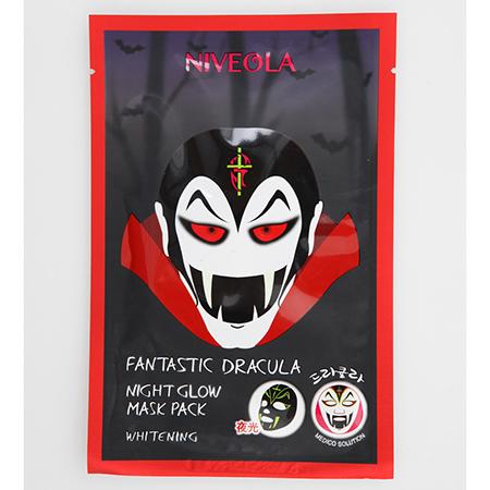 Маска для лица успокаивающая и выравнивающая тон Dracula, Niveola