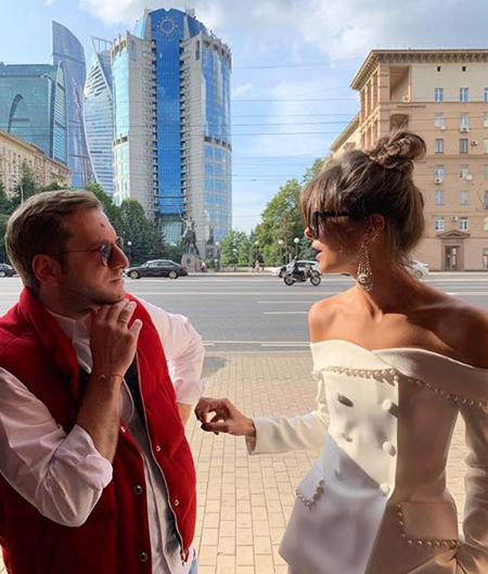 Резо Гигинеишвили и Надежда Оболенцева