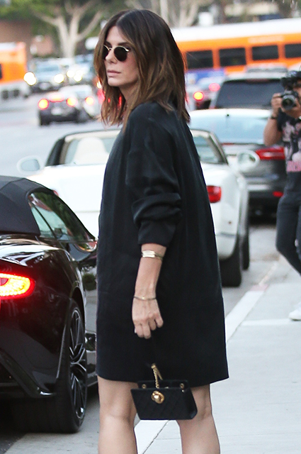 Редкий выход: Сандра Баллок на свидании с Брайаном Рэндаллом в Лос-Анджелесе