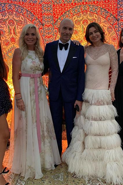 Марина Юдашкина, Игорь Крутой с женой Ольгой