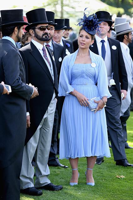 Шейх Мохаммед и принцесса Хайя