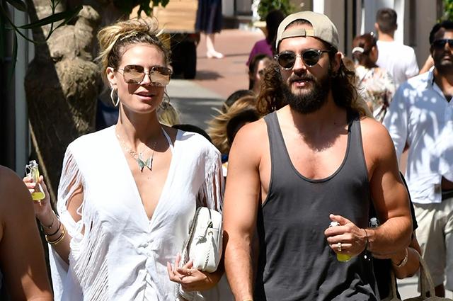 Прогулки, шопинг и танцы: Хайди Клум и Том Каулитц продолжают отдыхать на Капри
