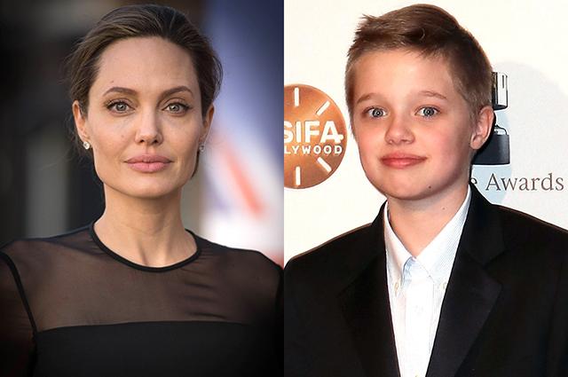 СМИ: дочь Анджелины Джоли и Брэда Питта Шайло больше не хочет жить с матерью и переезжает к отцу