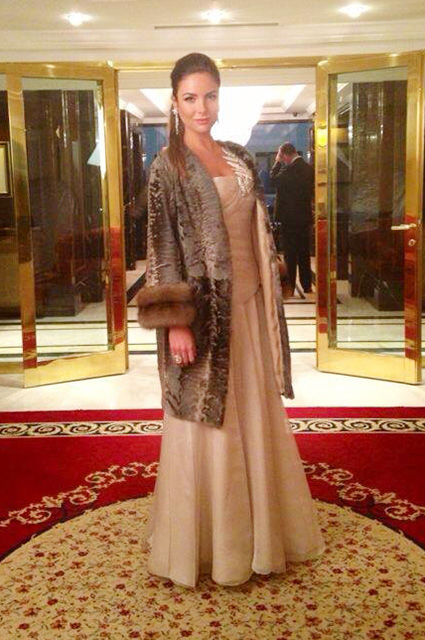 Илона Кесаева на Балу дебютанток журнала Tatler в 2013 году